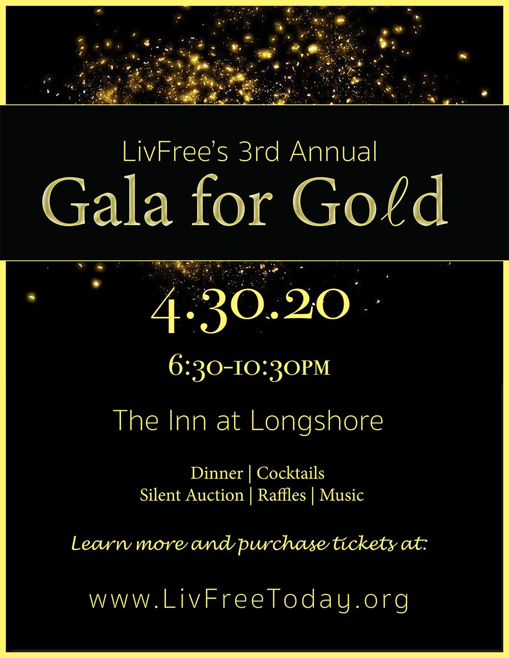 3rd Annual Gala For Gold