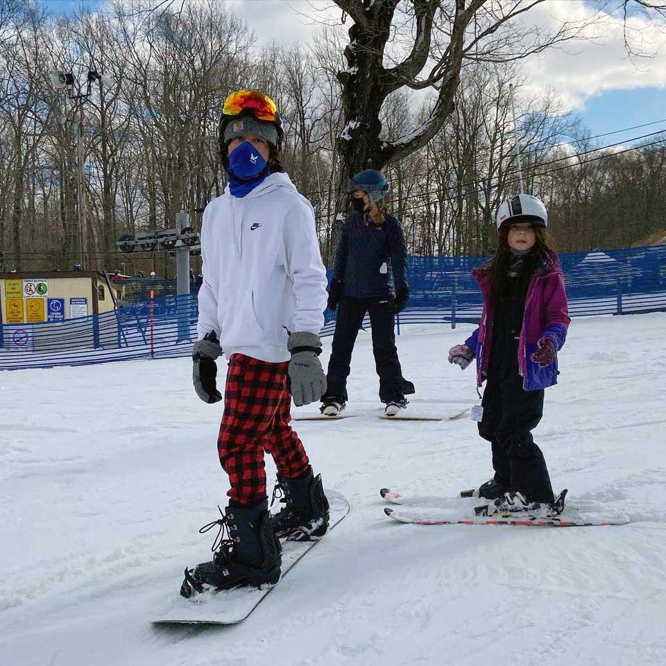 Manuel hits the slopes!