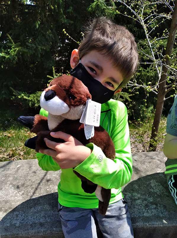 Shane has a blast at Beardsley Zoo!